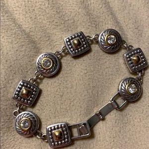Brighton Heiress link bracelet 7 1/4 inches